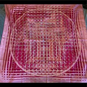 24 Faubourg Seconde Hermes scarf in pinks